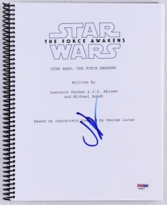 main_1-JJ-Abrams-Signed-Star-Wars-The-Force-Awakens-Movie-Script-PSA-COA-PristineAuction.com