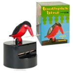 Toothpick bird and appropriatepackaging
